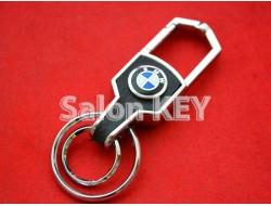 Брелок для ключей BMW карабин с кольцами