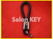 Брелок для ключей HYUNDAI кожаный шнурок карабин