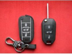 Чехол для выкидного ключа Peugeot