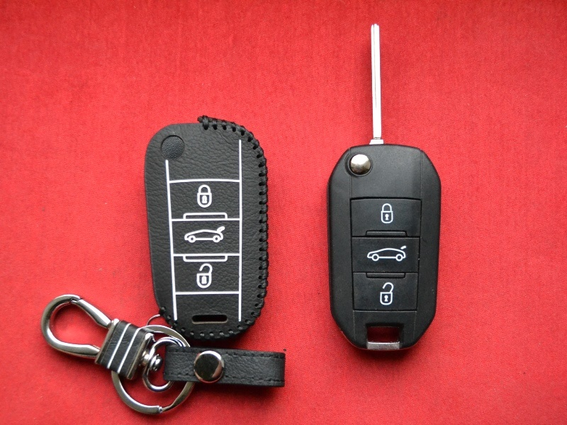 Case for flip key Peugeot