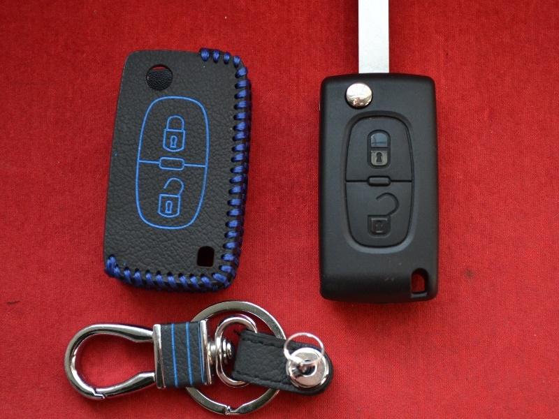 Case for flip key Peugeot