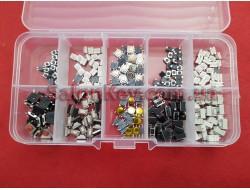 Набор Кнопок микриков для ремонта ключей