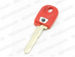 Ключ для мотоцикла Ducati красный с местом под чип