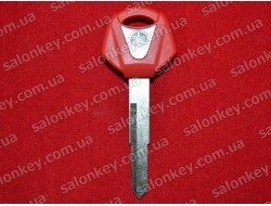 Ключ для мотоцикла Yamaha красный с местом под чип