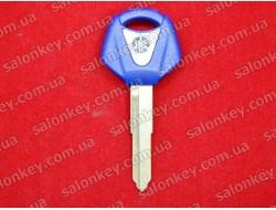 Ключ для мотоцикла Yamaha синий с местом под чип