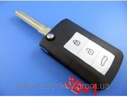 Kia cerato, magentis, soul выкидной ключ для переделки 3+1 кнопки Вид smart