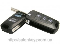 Ключ Hyundai i10, i20, i30, ix35, accent, tucson, sonata, santa fe
