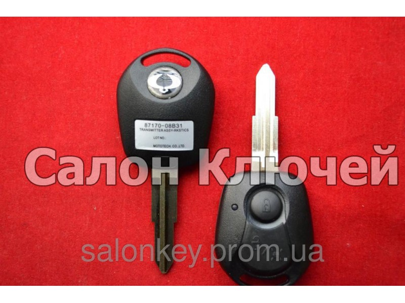 Ключ Ключ SsangYong rexton, korando, kyron, actyon 2 кн 315Mhz id60 Оригинал