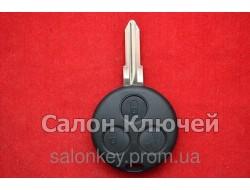 Ключ SMART Fortwo 3 кнопки  434Mhz    Аналог