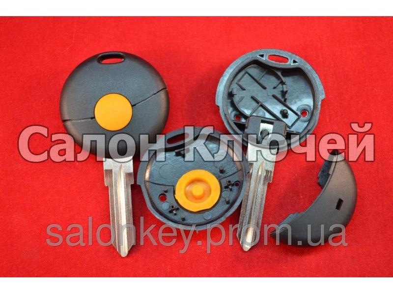 Ключ SMART Fortwo 1 кнопка корпус