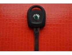 Kлюч Skoda octavia, fabia, roomster, superb с местом под чип, с подсветкой оригинал