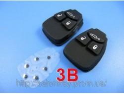 Автоключи Chrysler 3 кнопки резиновые.