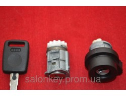 AUDI A4, A6  и другие комплект замков с обычными ключами