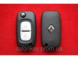 Корпус выкидного ключа Renault 2 кнопки Без логотипа