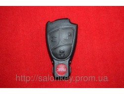 Mercedes Vito, Sprinter W211, Корпус ключа 3+1 кн. Малая рыбка ключ