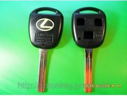 Корпус ключа на Lexus 3 кнопки длинный lx450, lx470, es300, land cruiser, ls400