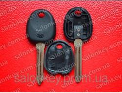 Ключ Hyundai с чипом ID46 лезвие HYN14R