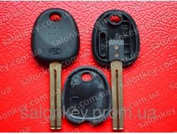 Hyundai ключ с чипом id46 лезвие HYN48