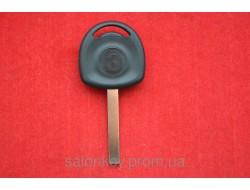 Ключ Opel с местом под чип Лезвие HU100 без логотипа