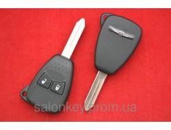 Автоключи, Chrysler корпус 2 кнопки.