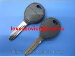 Ключ с местом под чип CHRYSLER 300, ASPEN, PACIFICA, SEBRING, VOYAGER Оригинал