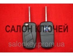 Ключ Fiat doblo, ducato, scudo, punto, fiorino 3 кнопки 434Мгц ID46 PCF7946 Вид №2