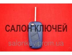 Ключ выкидной Ключ Fiat doblo, ducato, scudo, punto, fiorino3 кнопки 434Мгц ID48