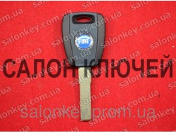 Key Fiat with transponder ID46 PCF7936 blade SIP22