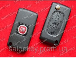 Ключ Fiat Scudo 3 кнопки с 2007 года Оригинал