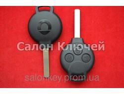 Ключ для автомобиля SMART PCF7941 id46 434Mhz