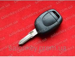 Ключ Renault Kangoo 1 кнопки 434Mhz PCF7946 id46 434Mhz лезвие VAC102 с 2002 по 2004г