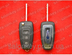 Ford mondeo, focus, fiesta выкидной ключ, чип 4D 80bit 433Mhz с 2010г