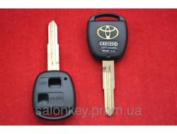 Toyota Land Cruiser, Camry, Rav4 корпус ключа 2 кнопки