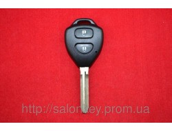 Ключ Toyota RAV4, Corolla корпус 2 кнопки Лезвие Toy43 NEW