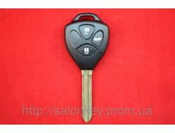 Ключ Toyota Camry корпус 3 кнопки Лезвие Toy43 NEW