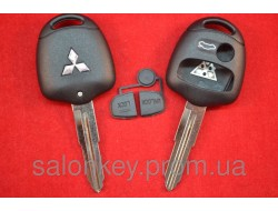 Корпус ключа Mitsubishi Outlander, Lancer, 3 кнопки Лезвие MIT11R