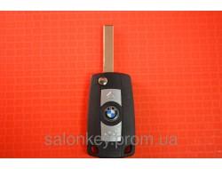 Выкидной ключ Bmw 3, 5, 7, x5 для переделки из ключа ромбик, лезвие HU92 вид SMART