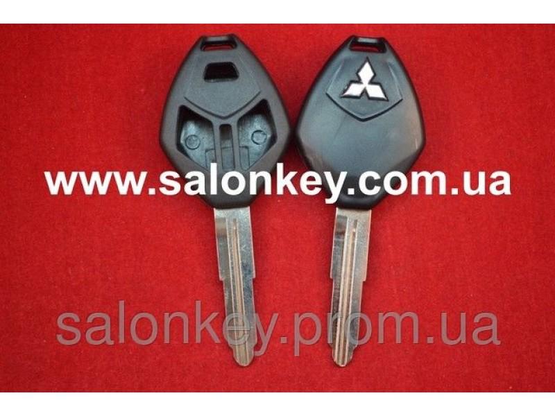 Корпус для ключа Mitsubishi 2+1 кн. ROMB MIT11R