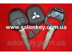 Корпус ключа Mitsubishi Outlander, Lancer, 2 кнопки Лезвие MIT11R