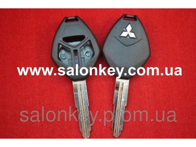 Корпус для ключа Mitsubishi 3 кн. ROMB MIT11R