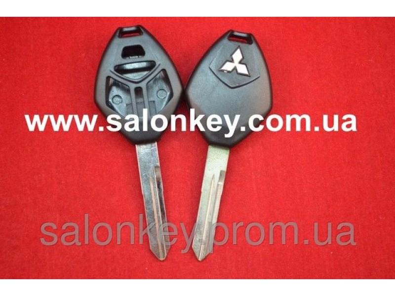 Корпус для ключа Mitsubishi 3+1 кн. ROMB MIT9L