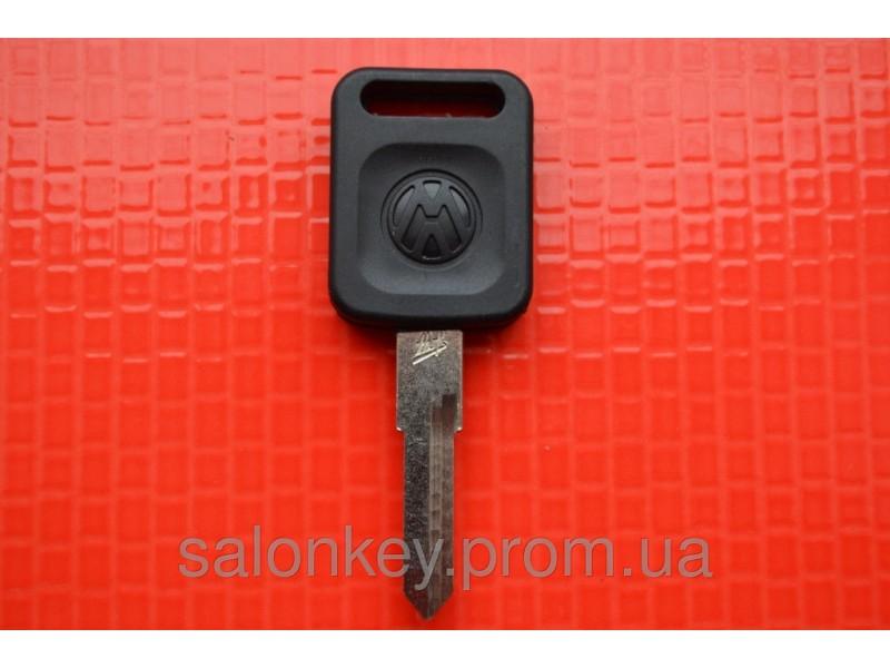 Ключ Volkswagen t4, trasporter, b4, golf, jetta с местом под чип HU49 вид 4