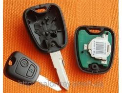 Ключ Peugeot 206. 433Mhz id46