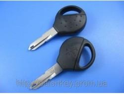 Ключ Peugeot 206 чипом. ID46