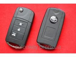 Toyota Land Cruiser выкидной ключ 3 кнопки