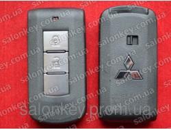 Смарт ключ Mitsubishi Outlander ASX Lanser закрытый