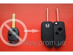 Ключ Honda Accord, Civic, CRV выкидной 3 кнопки Вид Lamborghini