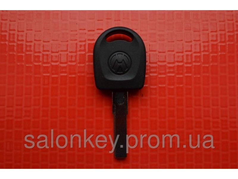Ключ VW t5, trasporter, b5, caddy, polo с местом под чип лезвие  HU66 вид1