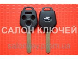 Ключ Subaru tribeca, forester, impreza, outback ключ 3+1кн. Лезвие DAT17 корпус вид№2.