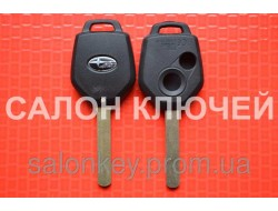 Ключ Subaru tribeca, forester, impreza, outback ключ 2 кнопка. Лезвие DAT17 корпус вид№2.